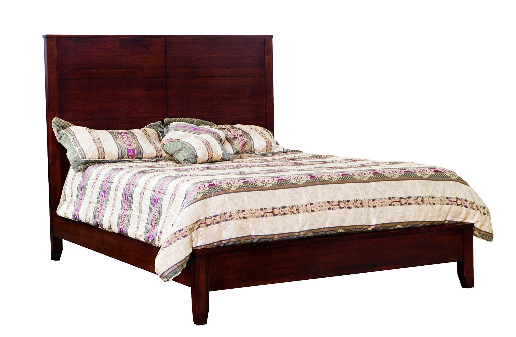 Contemporary Bed Peaceful Valley Amish Furniture