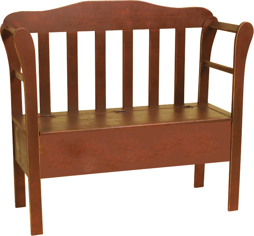 Large storage bench peaceful valley amish furniture - Naturewood furniture for both indoor and outdoor sitting ...