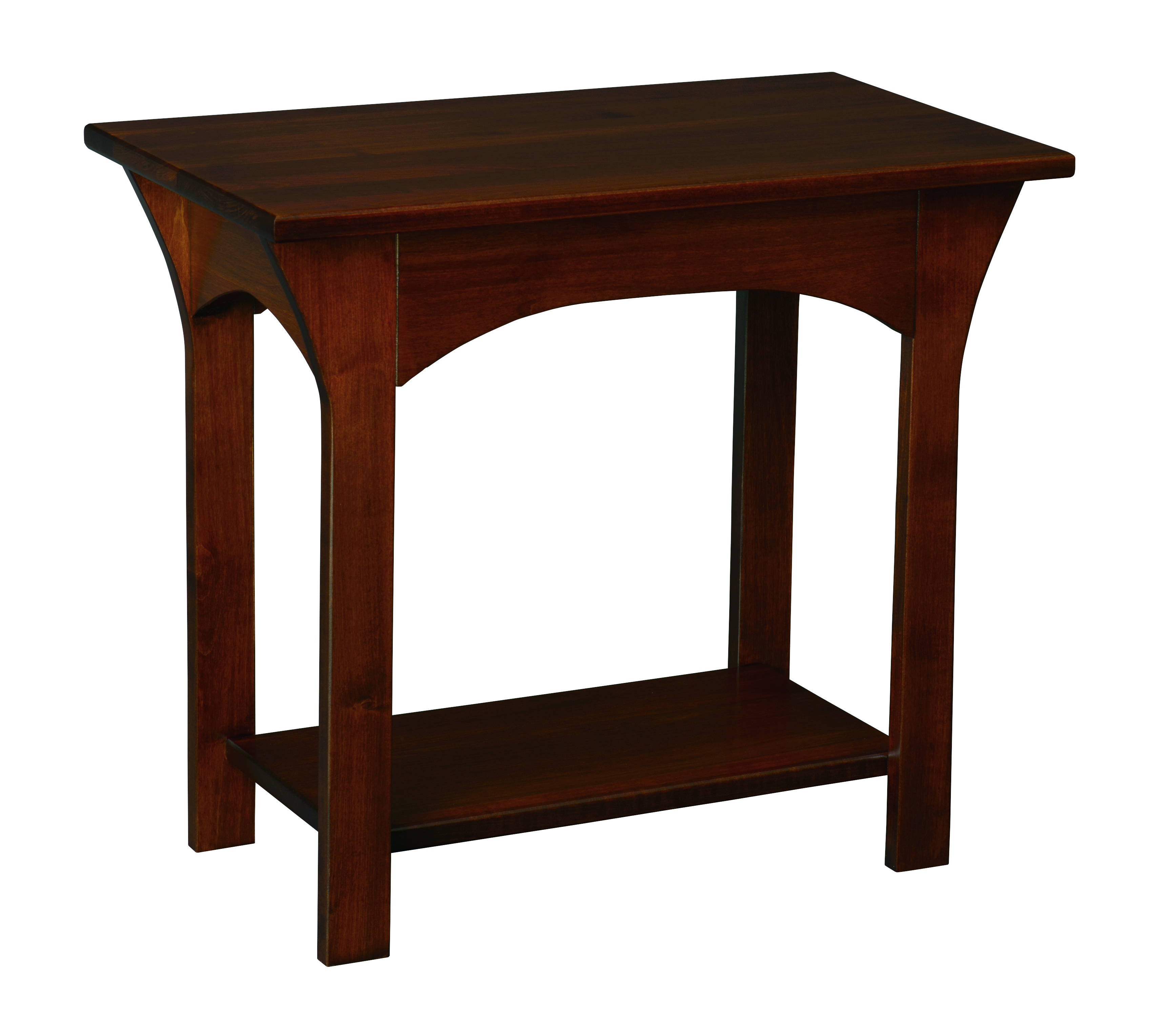 Monarch Chairside Table Peaceful Valley Amish Furniture